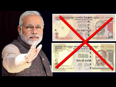PM Narendra Modi Bans Rs 500 & 1000 Notes