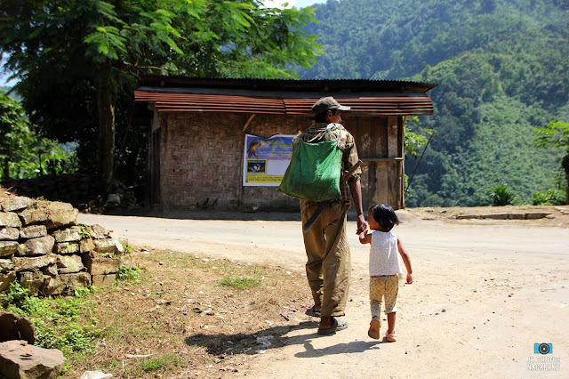 Photos of bike ride to Doyang Dam, Wokha, Nagaland