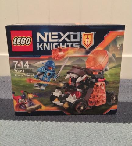 Nexo Knight:Chaos Catapult - Mummy Be Beautiful