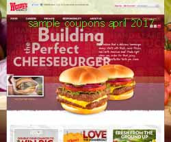 free Wendys coupons for april 2017