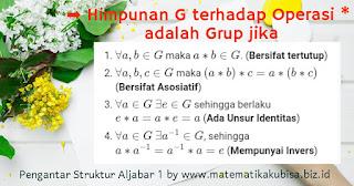 Definisi Grup