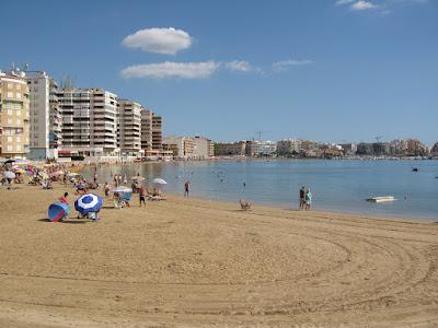 Playa de Torrevieja, España