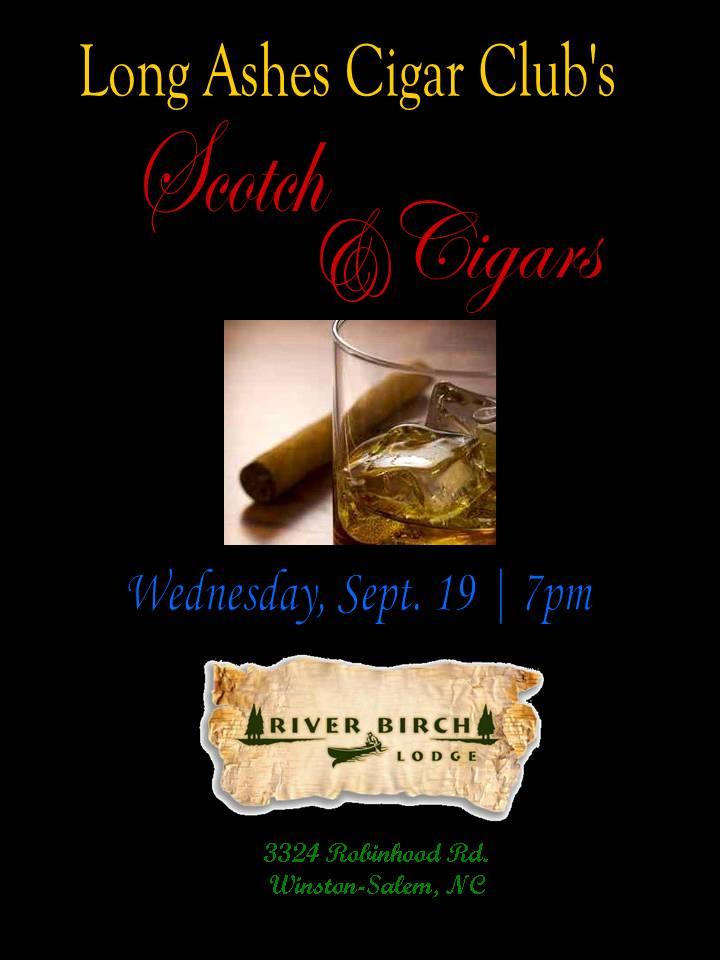 Long Ashes Cigar Club Winston Salem Nc Single Malts And Cigars 9 19