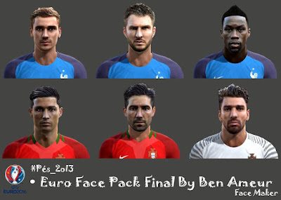 Pes 2013 Euro Face Pack Final By Ben Ameur