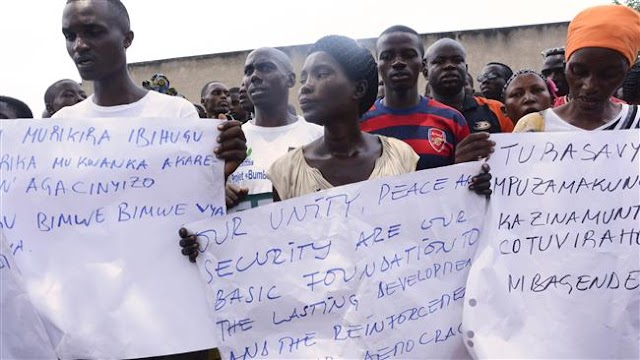 Burundi bans three UN human rights investigators from entering African country