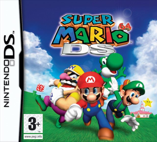 Super Mario 64 DS (E) (Wet N Wild)