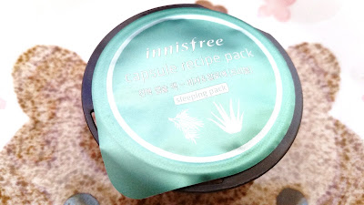 Innisfree Capsule Recipe Sleeping Pack in Aloe & Bija