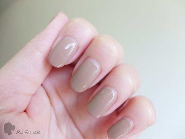 OPI 光療指甲油 INFINITE SHINE-ISL22 - TANACIOUS SPIRIT-試色