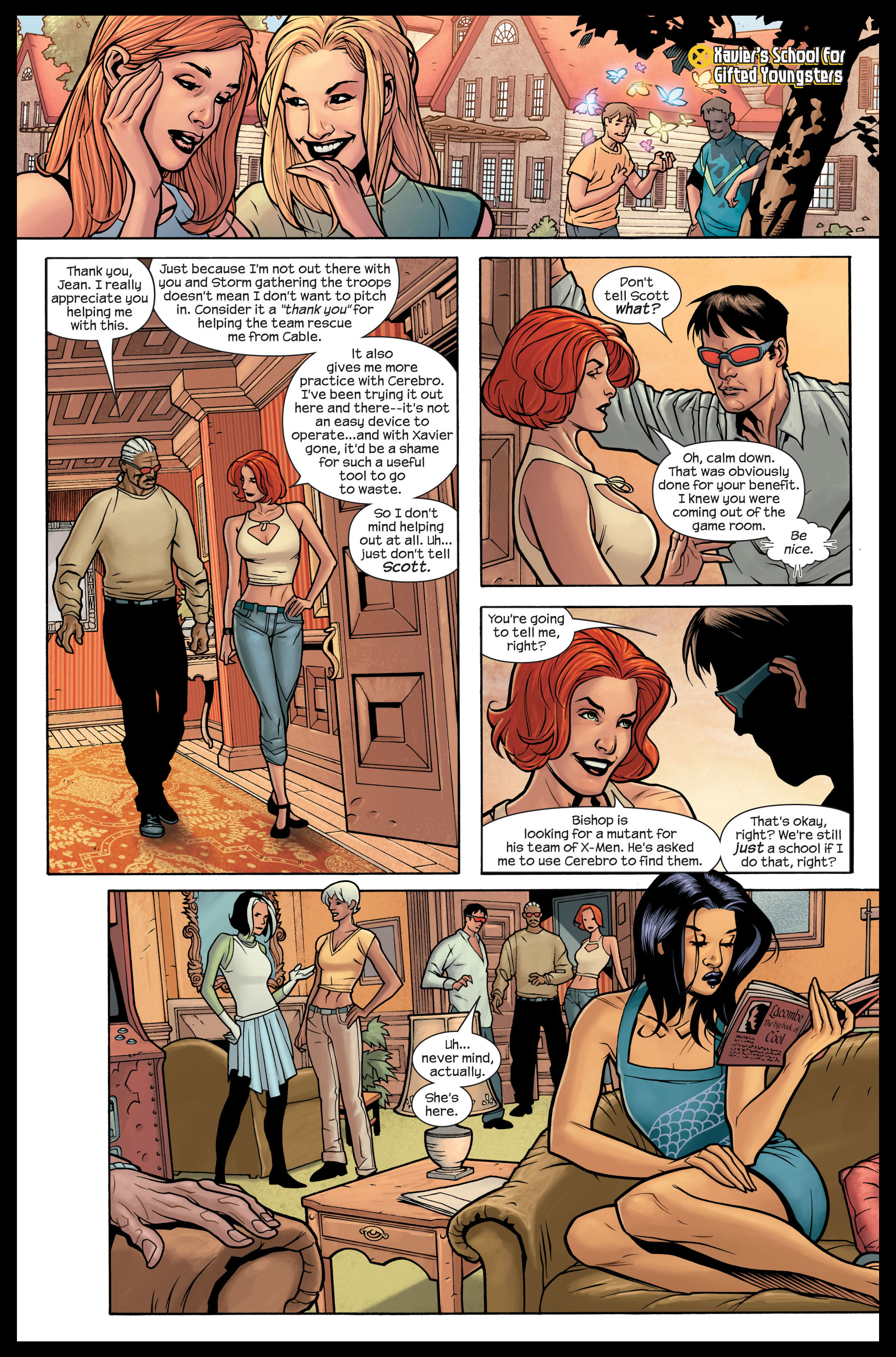Read online Ultimate X-Men comic -  Issue #84 - 18
