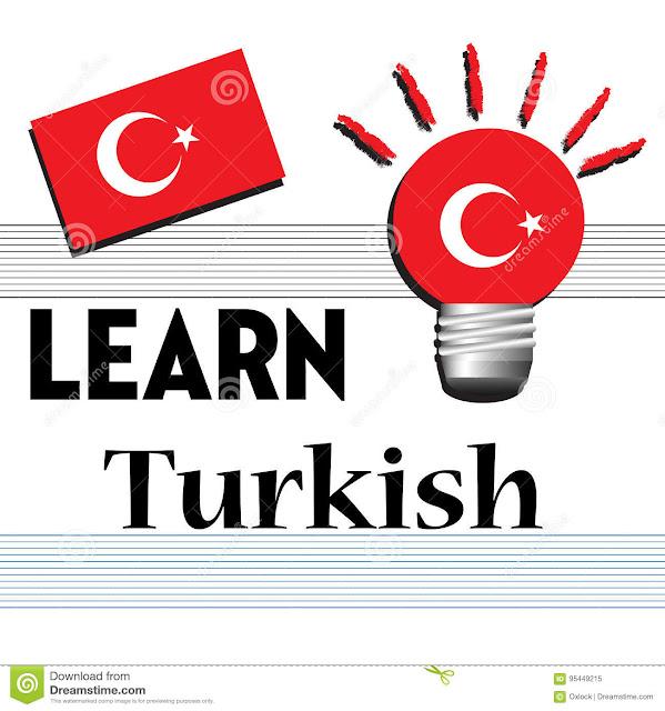 بعض الكلمات الشائعة في اللغة التركية مترجمة للعربية