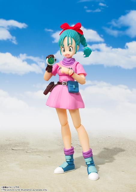 Bulma llega con su primer traje en la nueva S.H.Figuarts de Dragon Ball, Tamashii Nations