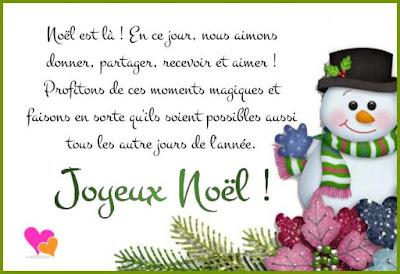 Texte de vœux avec bonhomme de neige