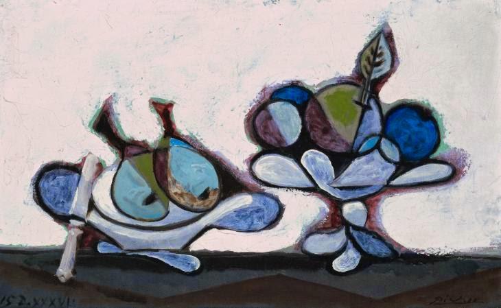 Prato de Pêra - Picasso e suas pinturas ~ O maior expoente da Arte Moderna