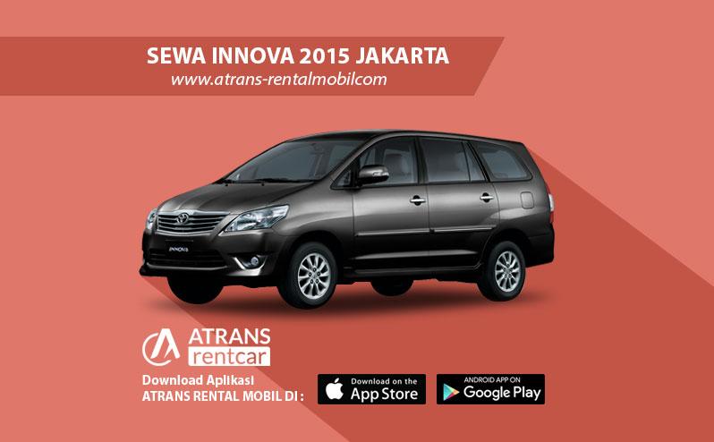 Rental Mobil Murah Toyota Innova 2015 Jakarta
