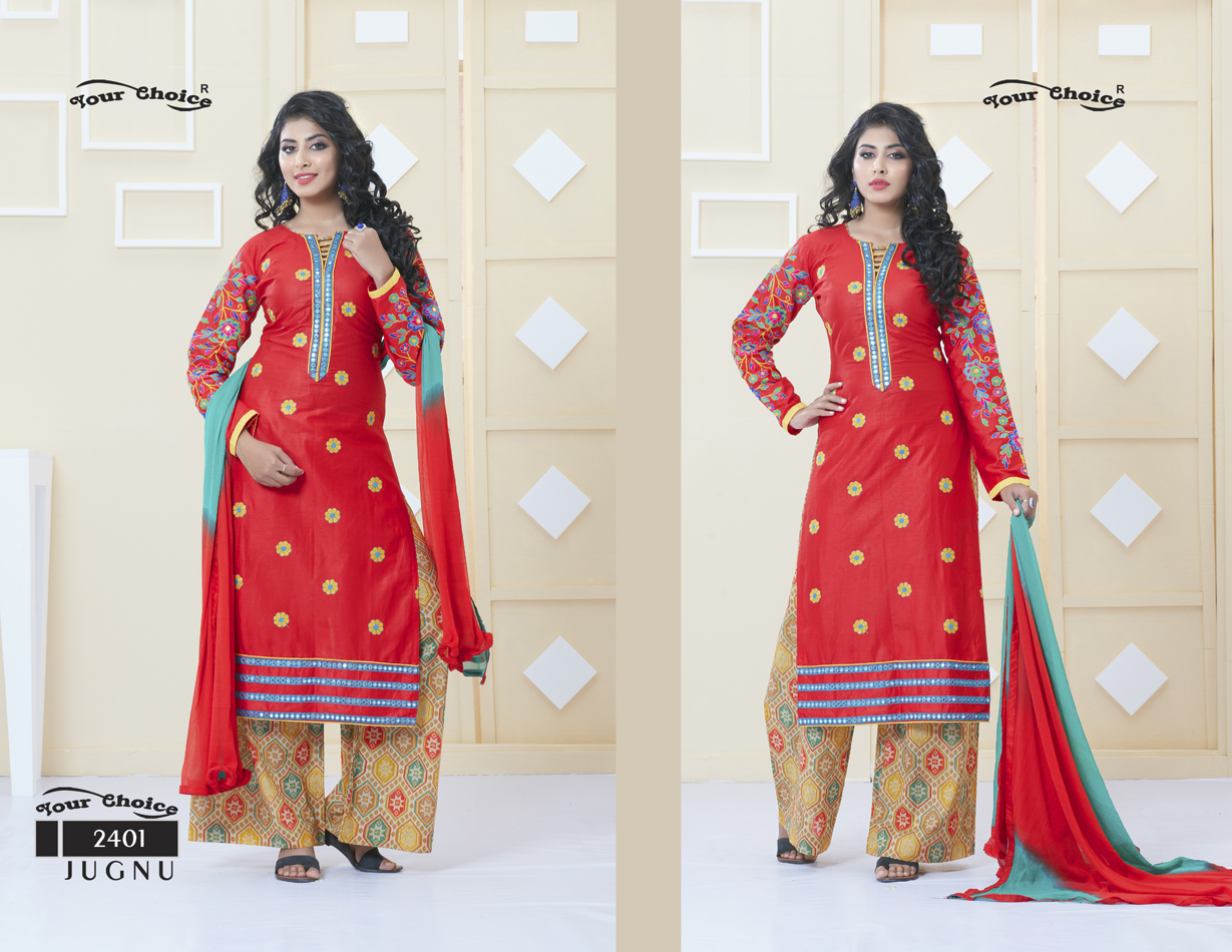 Jugnu – Plazzo Stylish And Fancy Designer Salwar Suit