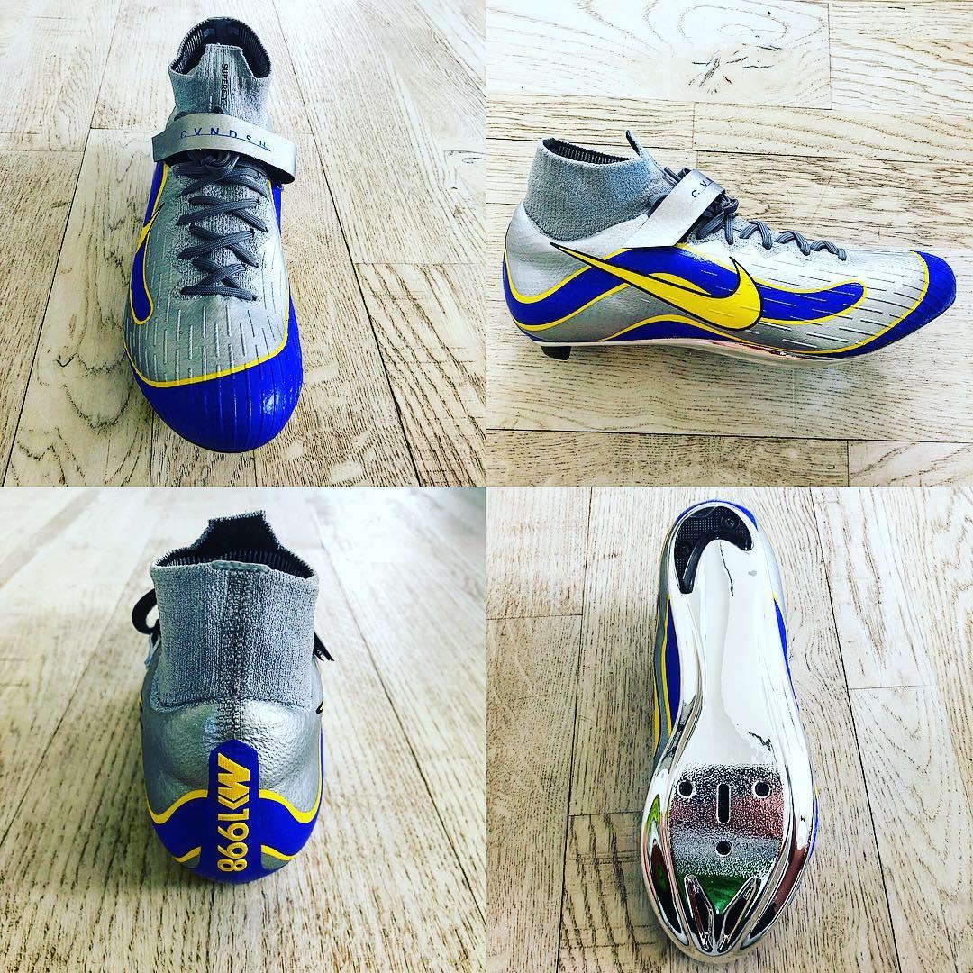 Huelga cocodrilo O cualquiera  All-New Nike Mercurial Superfly 360 Mark Cavendish Cycling Shoes Revealed -  Footy Headlines