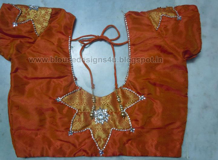 Patch Work Blouse Designs Saree Blouse Designs 2015 2016