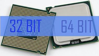 Perbedaan 32 Bit dan 64 Bit pada Sistem Operasi