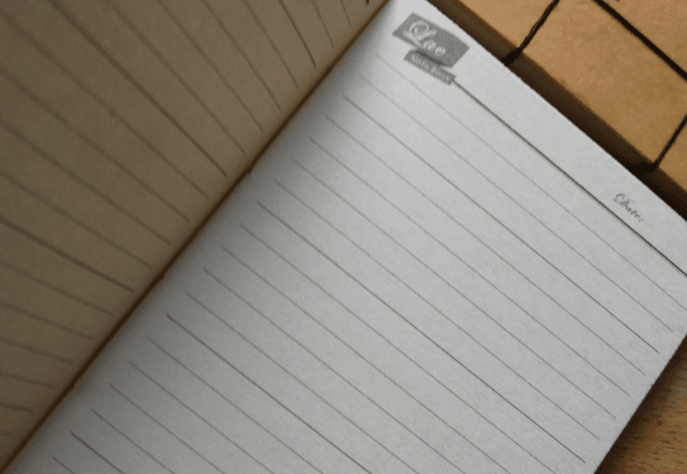 Halaman Isi Lae Note Book handmade by JL Keren