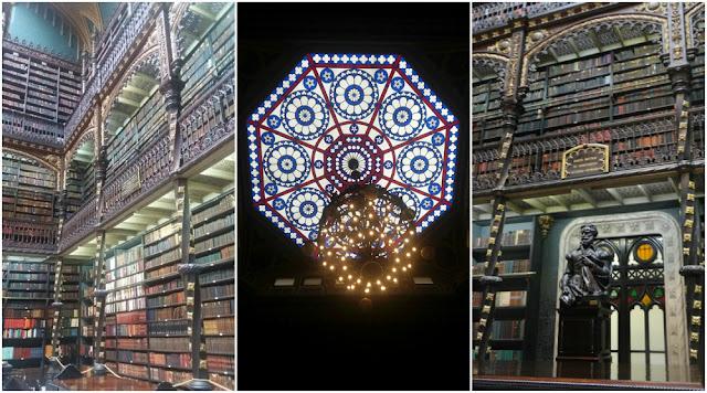 Atrações Históricas no centro do Rio de Janeiro - Real Gabinete Português de Leitura