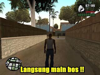 Bermain GTA San Andreas di PC