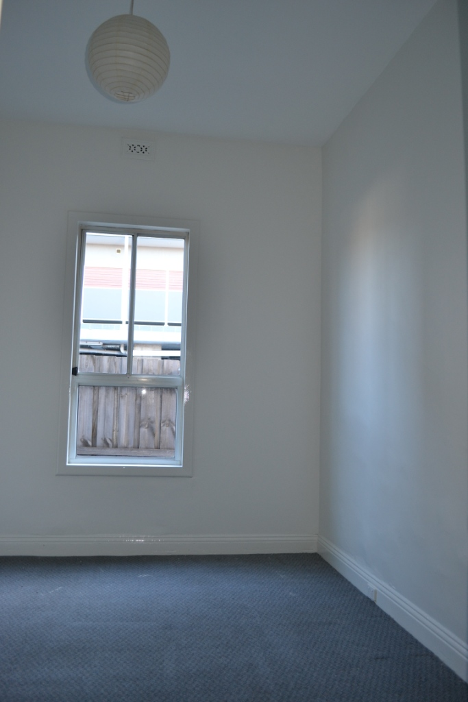 Three Coats Of Dulux Whisper White On The Walls And Same Colour For Trims In Gloss We Had This