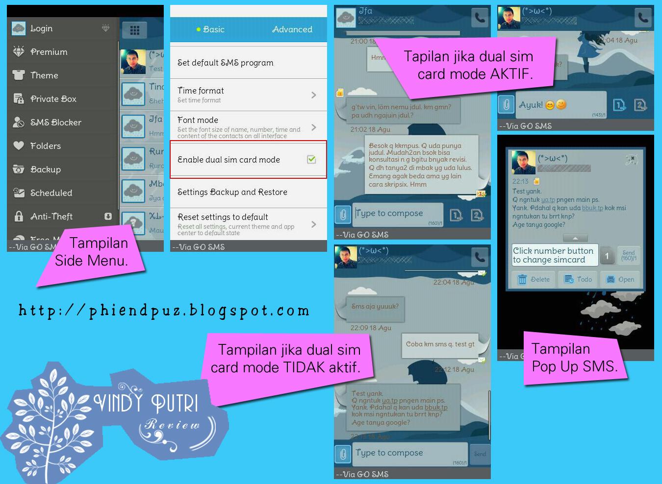 REVIEW: Aplikasi SMS Android Mendukung Dual Sim