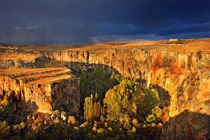 Ihlara Valley, Cappadocia, Turki
