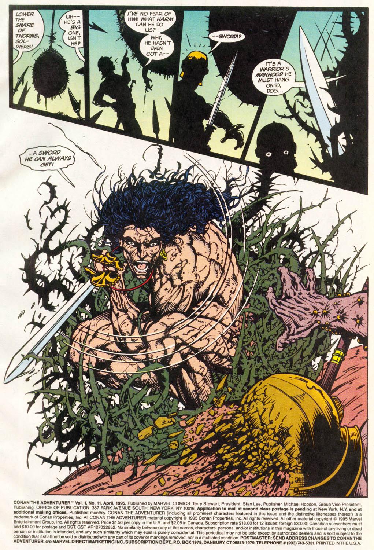 Read online Conan the Adventurer comic -  Issue #11 - 2