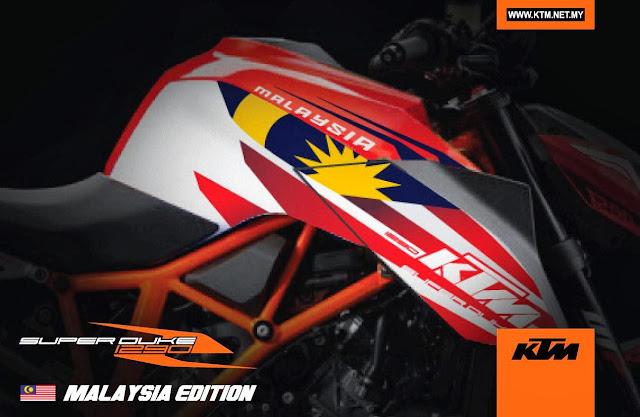 KTM Super Duke R Versi Malaysia Patriot 2014