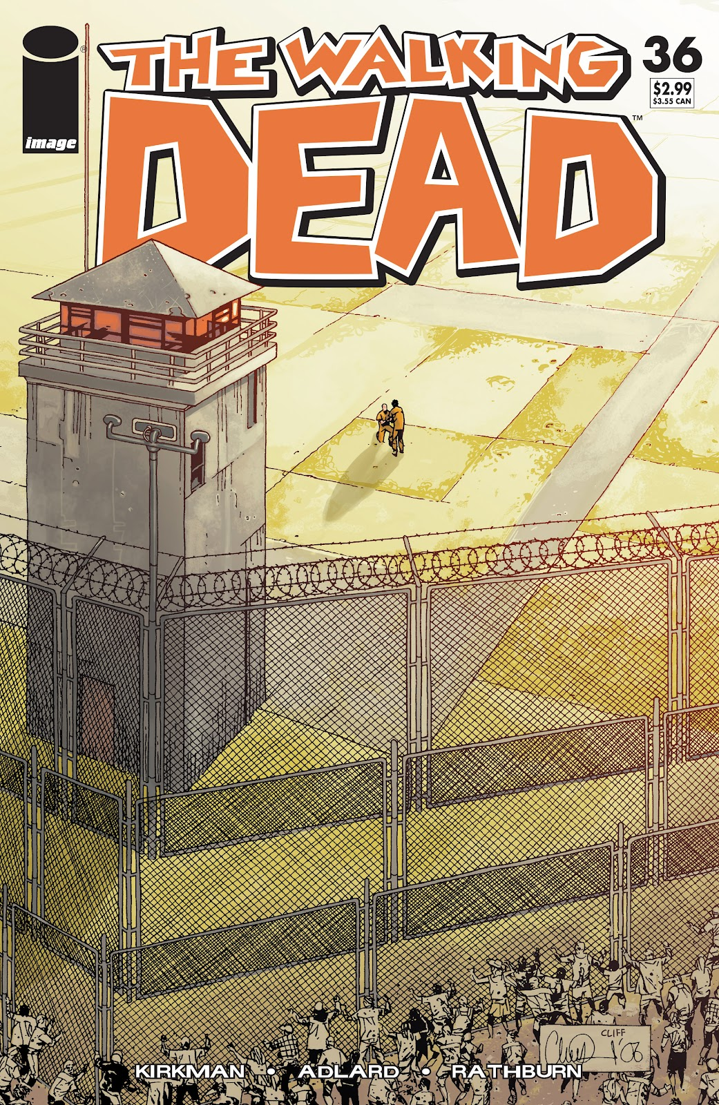 The Walking Dead issue 36 - Page 1