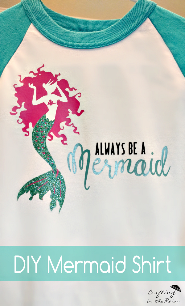 Mermaid Shirt Crafting In The Rain