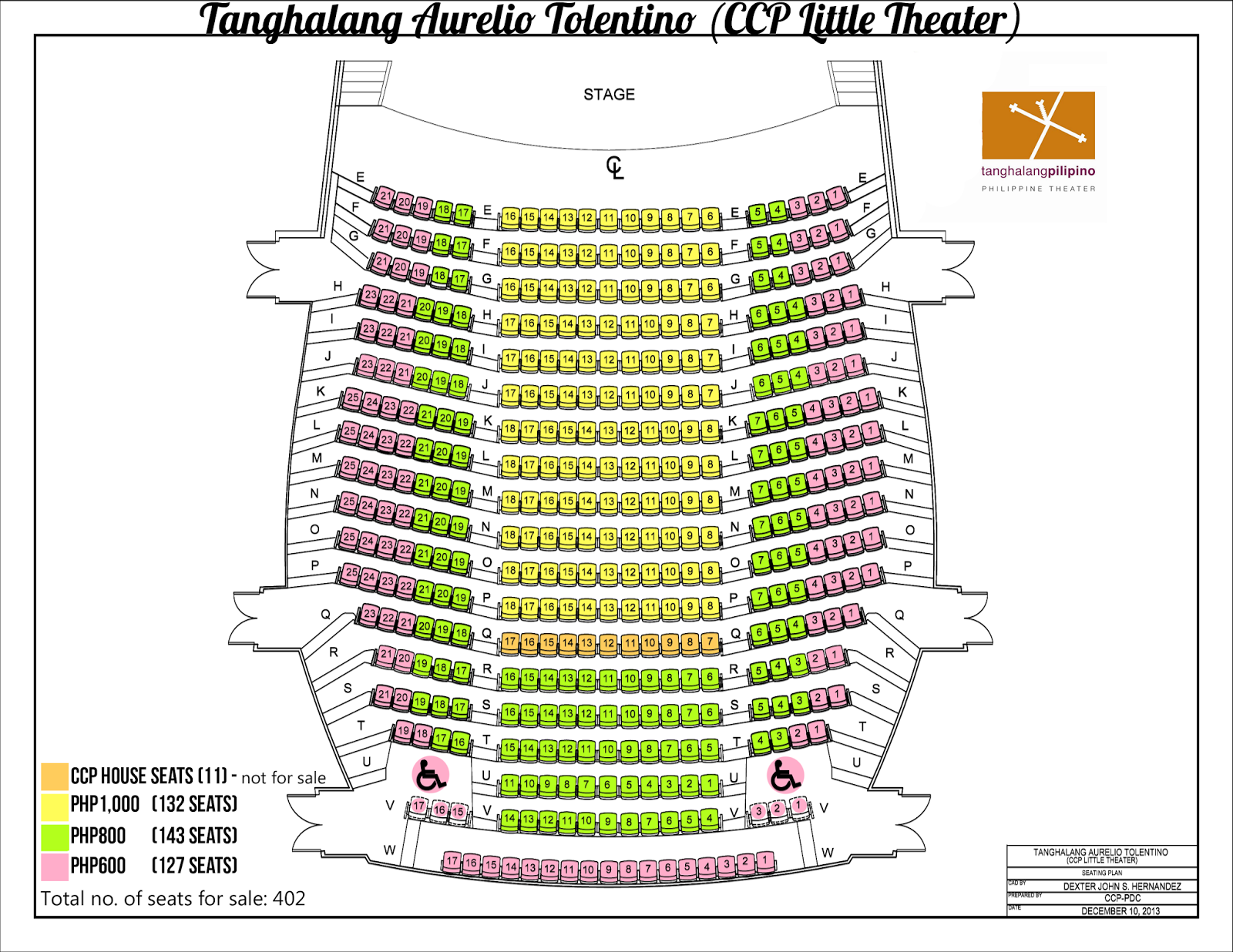 Cultural Center Floor Plan Tanghalang Pilipino 28th Theater Season Opener