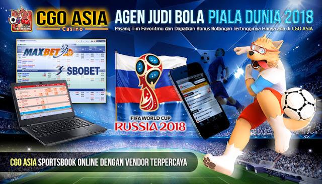 CGO Asia - Bandar Judi Bola Piala Dunia 2018