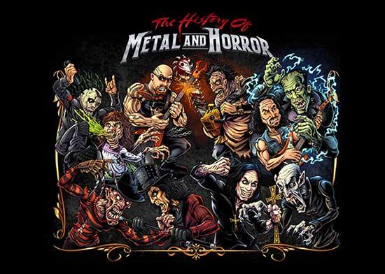 """""""The History of Metal and Horror"""" (2019), un documental de gritos y decibelios"""