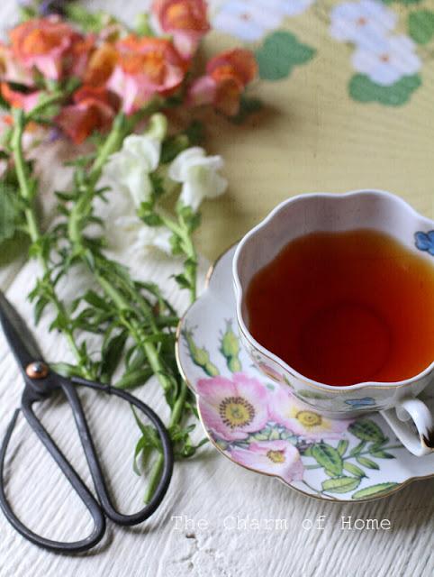 Midsummer Tea: The Charm of Home