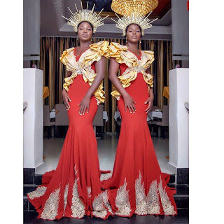 #Nollywood's Aneke twins in lovely new photos
