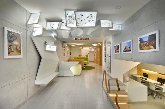 Thiết kế nội thất văn phòng hiện đại, khoa học của các công ty hiện nay