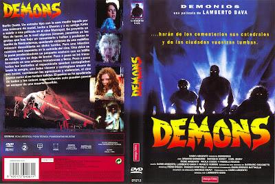 Carátula, cover, dvd: Demons | 1985 | Dèmoni