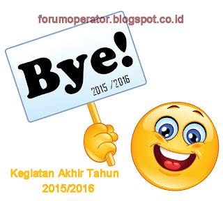 Pengumuman Kegiatan Akhir Tahun 2015/2016