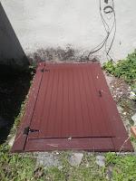 Built new cellar door.