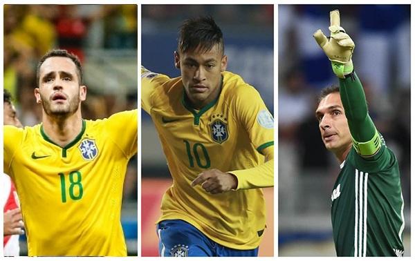 O técnico Rogério Micale anunciou na manhã desta quarta-feira a convocação  da seleção olímpica brasileira de futebol masculino para os Jogos Olímpicos  do ... 2c66e62d78598