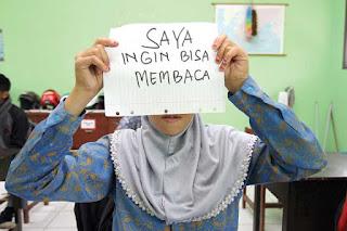 Sungguh Memperhatinkan 3,4 Juta Warga Indonesia Belum Bisa Baca Tulis
