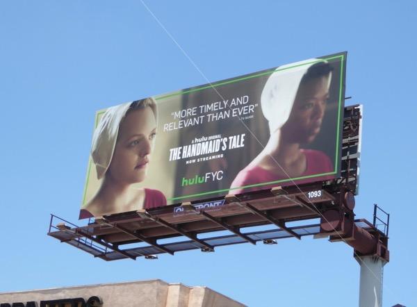 Handmaids Tale Emmy Hulu FYC billboard
