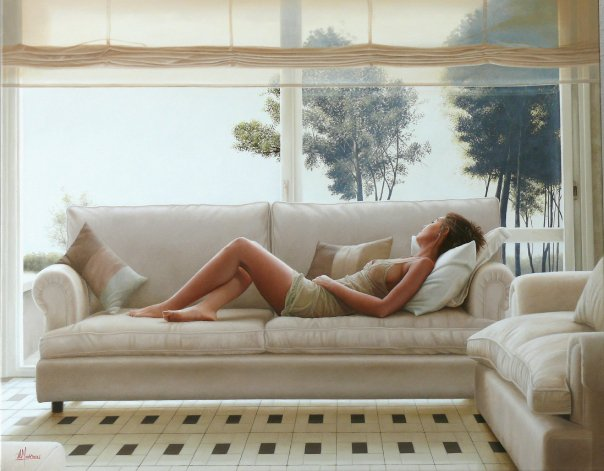 Wonderful Figurative Paintings By Alexandre Monntoya