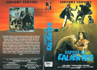 Carátula BETA: Espuela caliente (1968) (Espuela dorada) (Hot Spur)