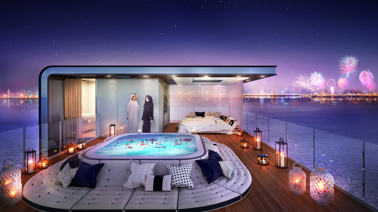 Passion for luxury floating houses in dubai for Hotel de dubai