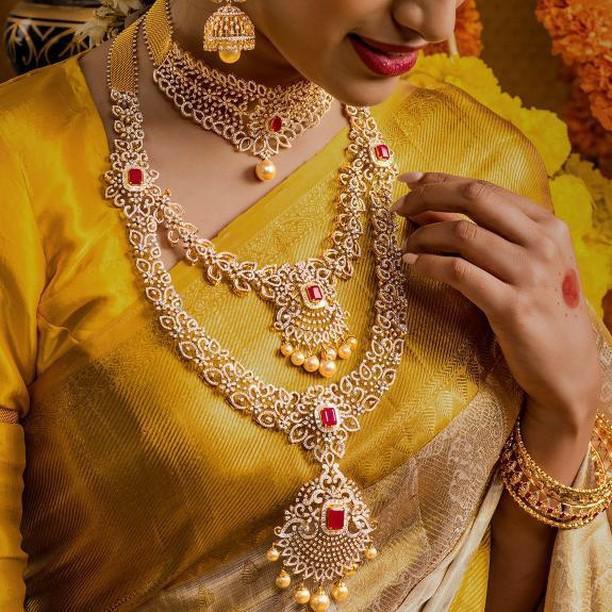 Diamond Bridal Sets by Srikrishna Jewels