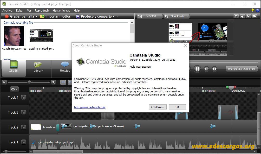 Camtasia Studio 8 Full Español