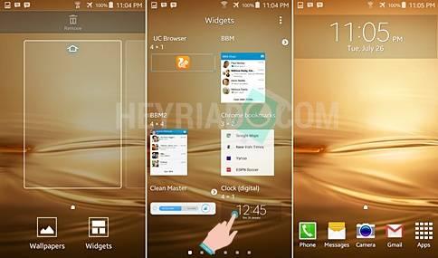 Cara Menampilkan Jam di Layar Depan Android